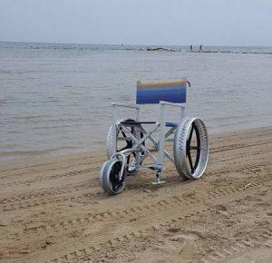 Mare a Fano Carrozzina disabili per le spiagge